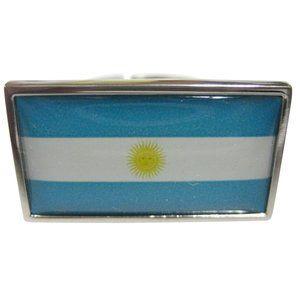 Argentina Flag Fashion Ring
